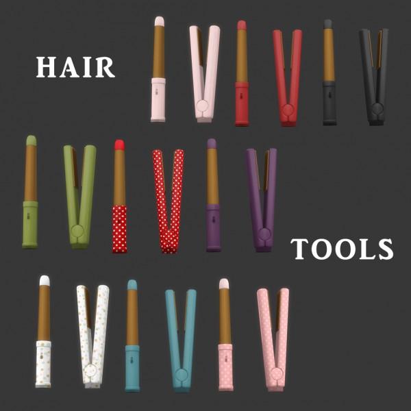 Leo 4 Sims: Hair Tools