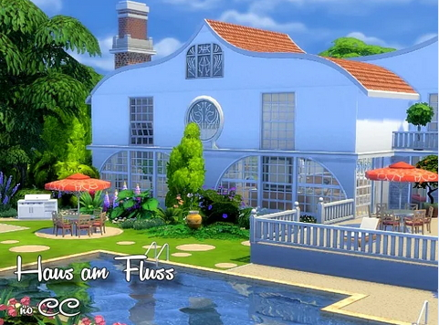 All4Sims: House by the river by  Oldbox