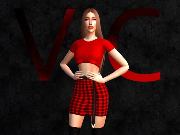 The Sims Resource: Shirt II by Viy Sims