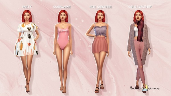 Luna Sims: Angela pleasant