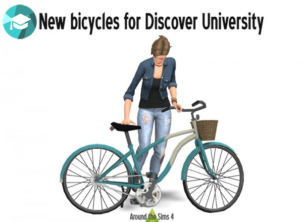 Around The Sims 4: Bikes and Bicycles