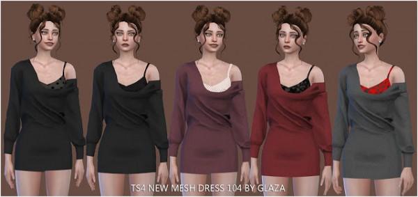 All by Glaza: Dress 104
