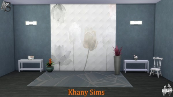 Khany Sims: Flowered space