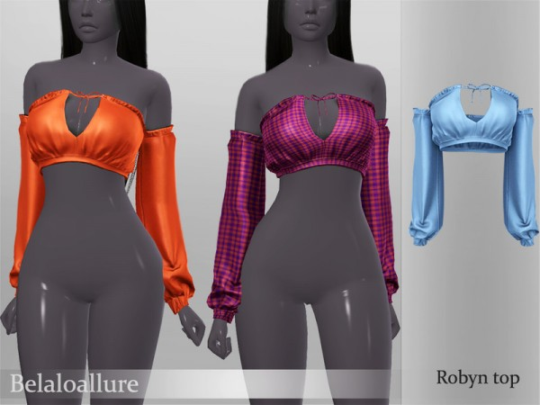The Sims Resource: Robyn top by belal1997