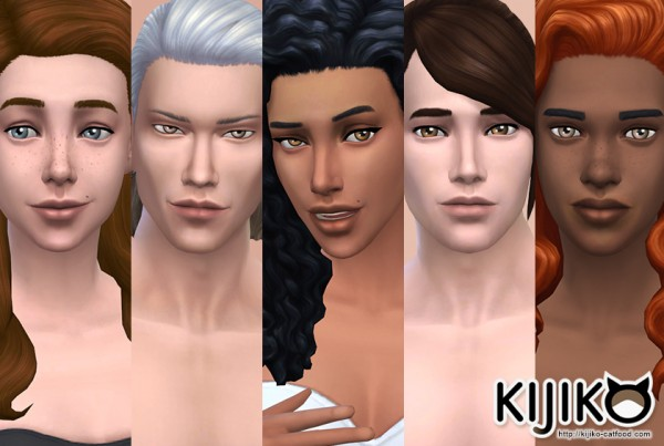 Kijiko: Skin Tones Maxis Match Edition