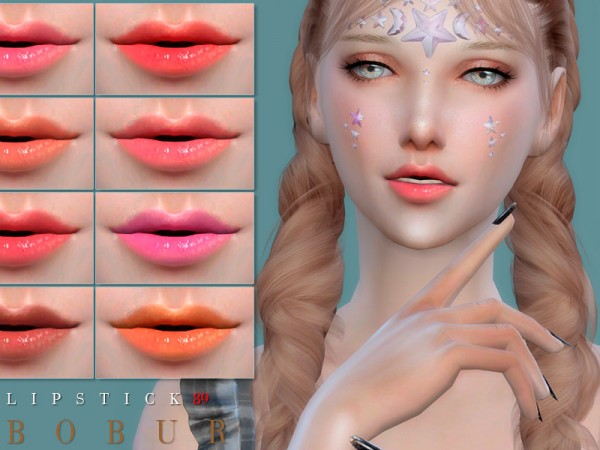 The Sims Resource: Lipstick 89 by Bobur