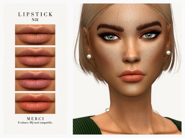 The Sims Resource: Lipstick N31 by Merci