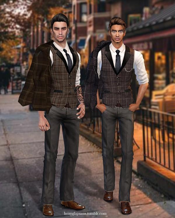 Hoanglap Sims: Professor Suit
