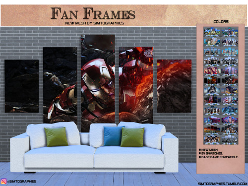 Simtographies: Fan Frames