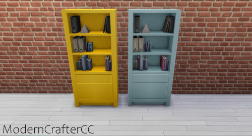Modern Crafter: Simple Symmetry Bookcase V2 Recolour