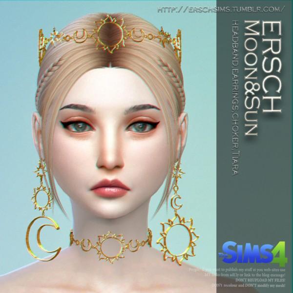 ErSch Sims: Moon and Sun set