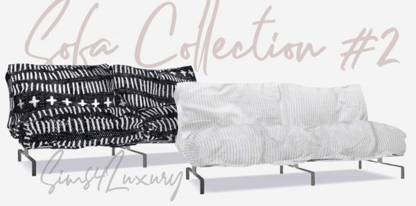 Sims4Luxury: Sofa Collection 2