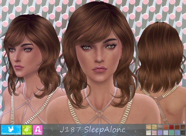 NewSea: J187 Sleep Alone donation hairstyle