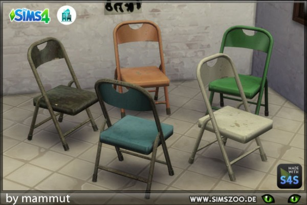 Blackys Sims 4 Zoo: Flap Chair by mammut
