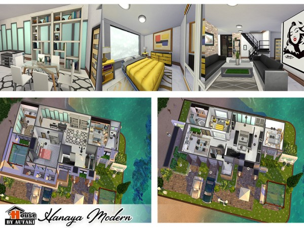 The Sims Resource: Hanaya Modern by Autaki