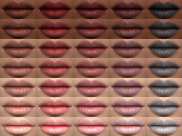 The Sims Resource: Flora   Lipstick 05 HQ by Alf si