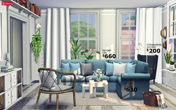 Blooming Rosy: Furniture Recolor Set