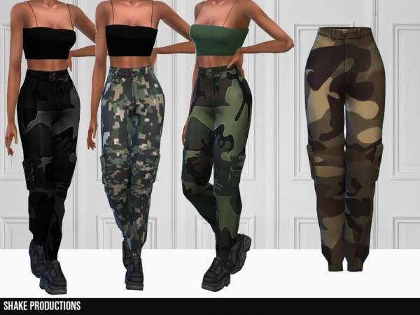 The Sims Resource: 336   Cargo Pants by ShakeProductions