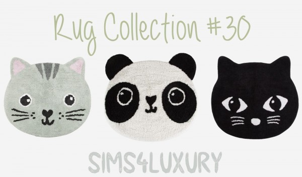 Sims4Luxury: Rug Collection 30