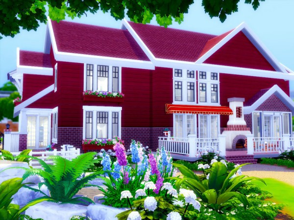The Sims Resource: Arusha house   Nocc by sharon337