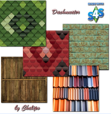 All4Sims: Roof pattern by Chalipo