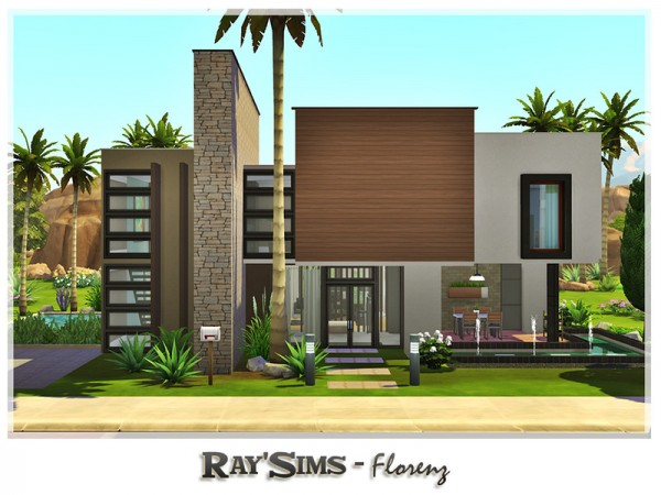 The Sims Resource: Florenz house by Ray Sims