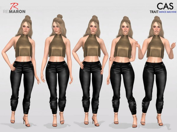 The Sims Resource: Pose for Women by remaron