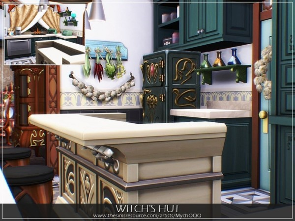 The Sims Resource: Witchs Hut by MychQQQ