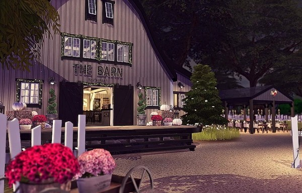Blooming Rosy: The Barn   Restaurant