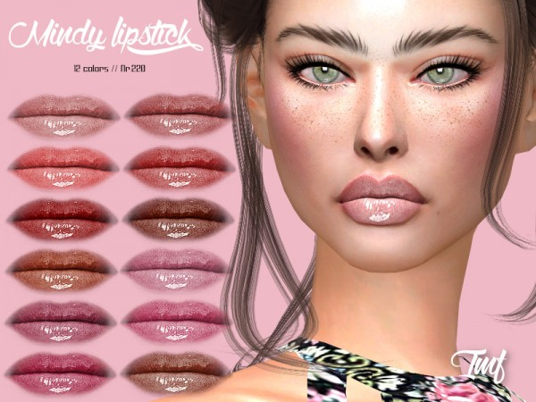 The Sims Resource: Mindy Lipstick N.220 by IzzieMcFire