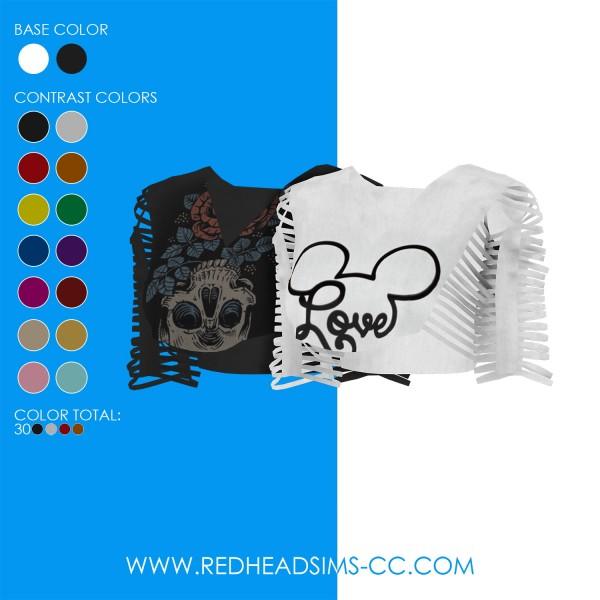 Red Head Sims: I wanna go shirt