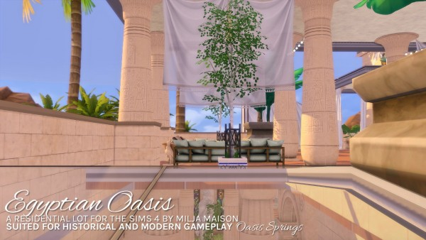 Milja Maison: Egyptian oasis