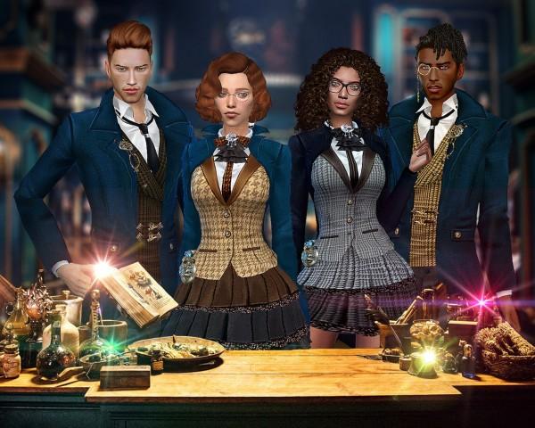 Hoanglap Sims: Magician set foor