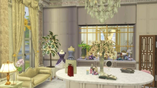 Gravy Sims: Luxury Walk In Closet
