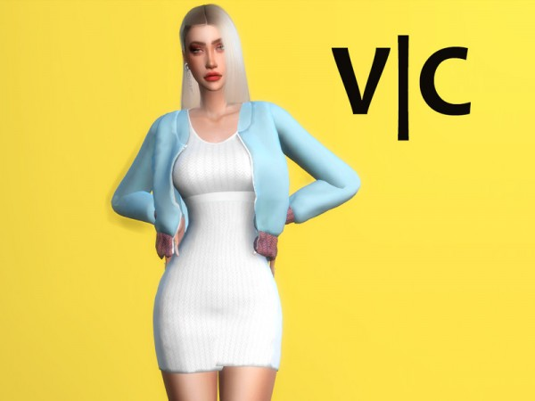 The Sims Resource: Dress VI by Viy Sims