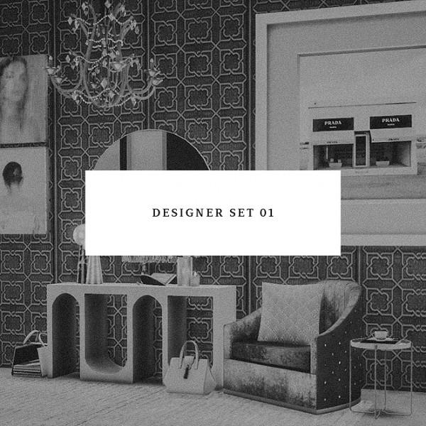 Blooming Rosy: Designer Set 01