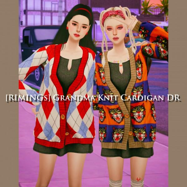 Rimings: Grandma Knit Cardigan