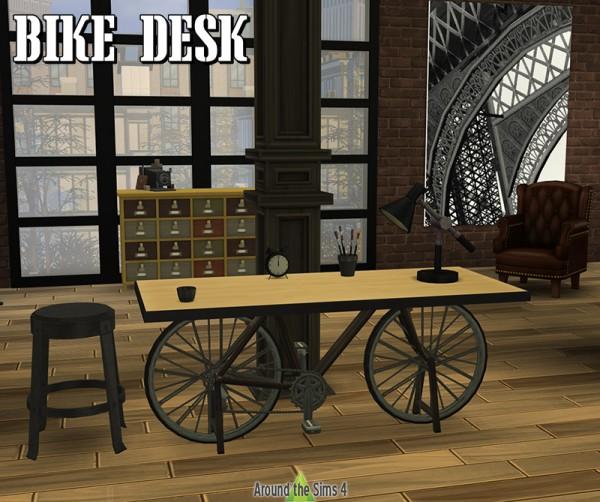 Around The Sims 4: Bike desk