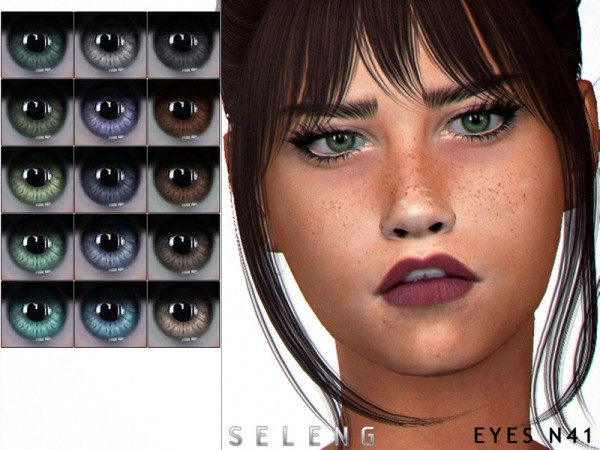 The Sims Resource: Eyes N41 by Seleng