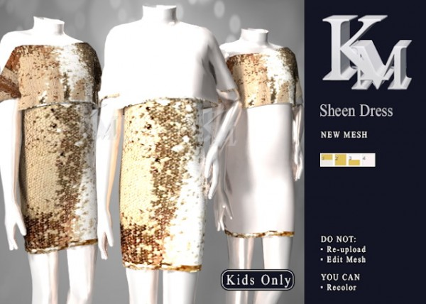 KM: Sheen Dress