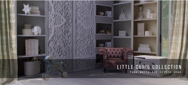 Blooming Rosy: The Little Curio Collection