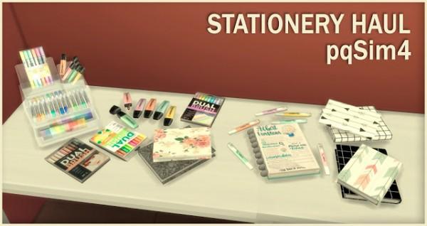 PQSims4: Stationery Haul