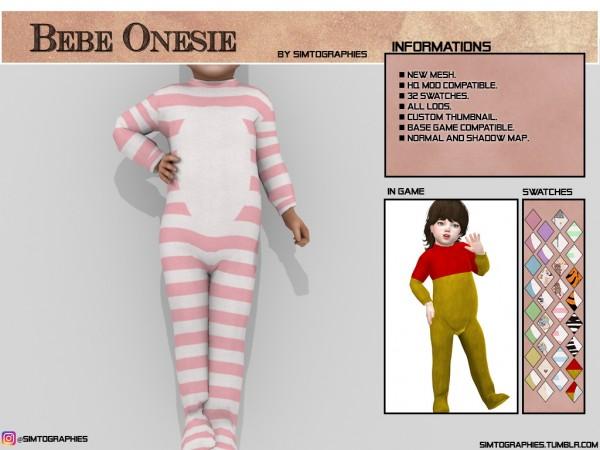 Simtographies: Bebe Onesie