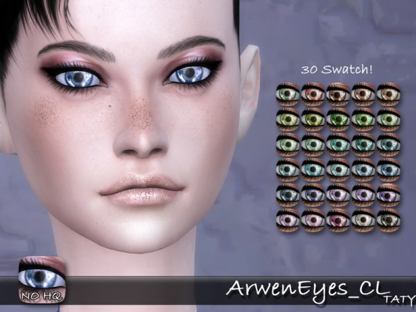 The Sims Resource: Arwen Eyes by tatygagg