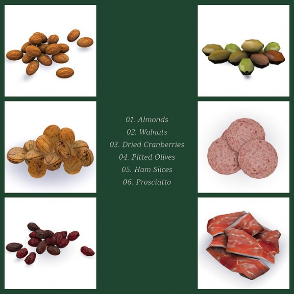 Blooming Rosy: Charcuterie Vol. 01