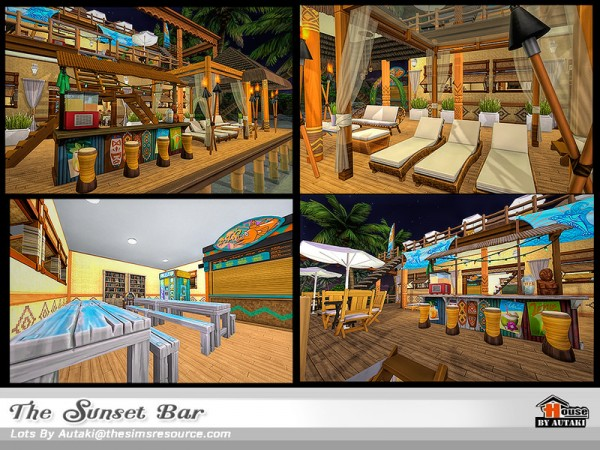 The Sims Resource: The Sunset Bar by Autaki