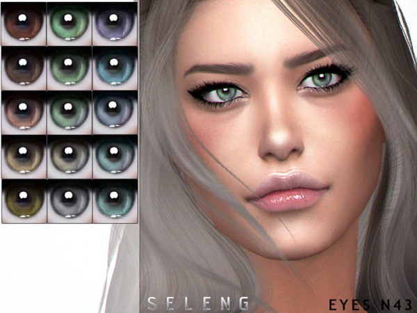 The Sims Resource: Eyes N43 by Seleng