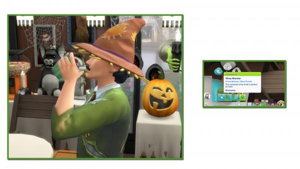 Mod The Sims: Monster Slime Drinkable Punch by icemunmun