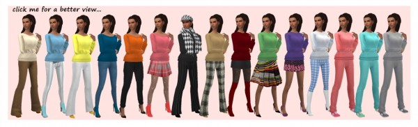 Sims 4 Sue: Sweater