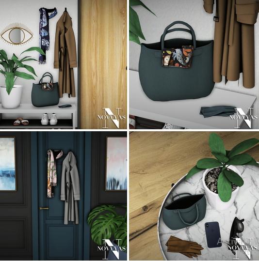 NOVVAS: Hallway clothes